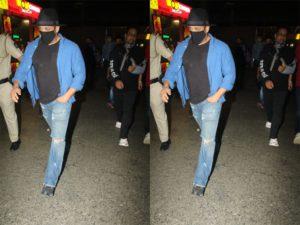 अहमदाबाद 3 की कंट्रोल से मुंबई सुपरफास्ट सलमान खान, एयरपोर्ट पर कुछ था बैंनटाॅन्स्ट