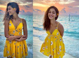 कभी फ्लोरल ड्रेस तो कभी बिकिनी पहन अनन्या पांडे ने अपने किलर लुक्स दिखाकर किया सबको घायल