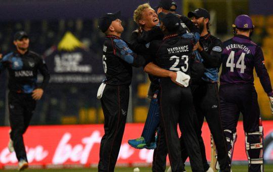 T20 विश्व कप, SCO बनाम NAM: रूबेन ट्रम्पेलमैन, जेजे स्मिट शाइन के रूप में नामीबिया ने स्कॉटलैंड को 4 विकेट से हराया